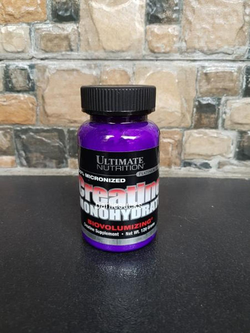ULTIMATE NUTRITION CREATINE MONOHYDRATE 120 GR