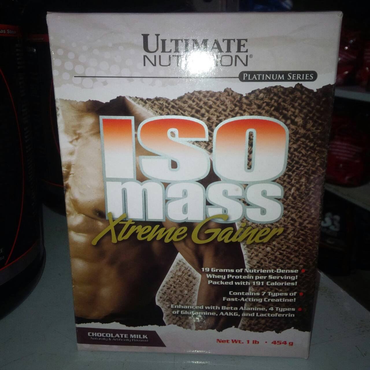 Ultimate Nutrition Iso Mass Extreme Gainer 1 Lbs Xtreme 10 Chocolate