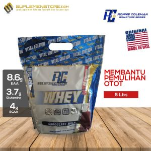 rc whey 5 lbs new