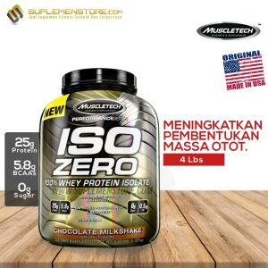 MUSCLETECH ISO ZERO 4 LBS new