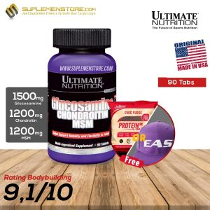 ULTIMATE NUTRITION GLUCOSAMINE & CHONDROITIN 90 TABS